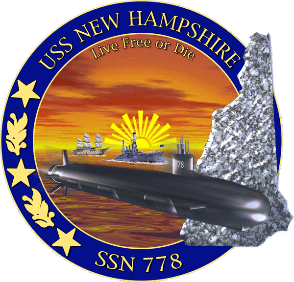 USS New Hampshire SSN-778 Crest