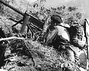 US ARMY M1919A4 Korea, 1953