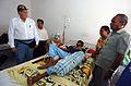 US Navy 050328-N-8629M-041 Dr. Ira Rosenfeld, left, visits a patient at the Kalabahi Hospital in Alor, Indonesia.jpg