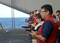US Navy 080925-N-8593M-060 Sailors participate in a weapons qualification.jpg