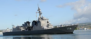 Ashigara (DDG-178) in Hawaii