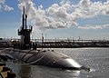 US Navy 090921-N-8092F-001 The Los Angeles-class attack submarine USS Scranton (SSN 756) is moored to the pier at her homeport of Naval Station Norfolk, Va., after a six-month deployment.jpg