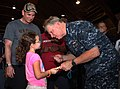US Navy 100503-N-6046S-003 Chief of Naval Operations (CNO) Adm. Gary Roughead answers questions from Sailors and their families at Naval Support Activity Mid-South in Millington, Tenn.jpg