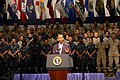 US Navy 100615-N-6403H-001 President Barack Obama addresses service members at the Naval Air Technical Training Center at Naval Air Station Pensacola.jpg