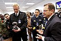 US Navy 101026-N-8863V-685 Nineteen foreign naval attaches toured NSWC Corona, the Navy's newest federal lab.jpg