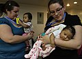 US Navy 110324-N-0640G-016 ennifer King, front, and Ashley Williams, both from the Child Development Center at Travis AFB,.jpg