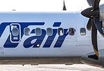 UTair ATR-72 from Nizhnevartovsk (8649560434).jpg