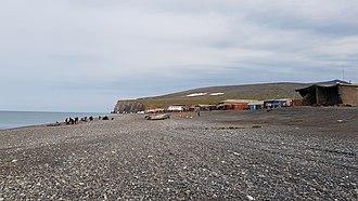 Uelen - Uelen beach on Arctic Ocean, August 2018