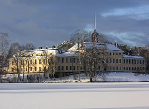 Ulriksdal Palace - The Palace seen from the Edsviken in January 2007.