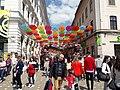 Umbrele colorate, Timisoara.jpg