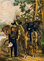 Uniformer Generalitetet, Staben, Topografiska Corpsen och Artilleri-Staben.png