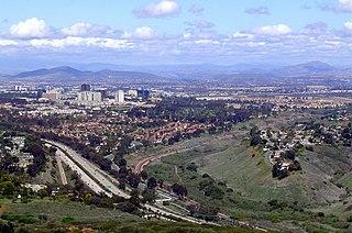 University City, San Diego Community of San Diego in California