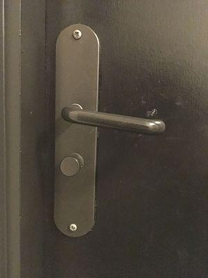 Door handle bacteria - A typical Door Handle