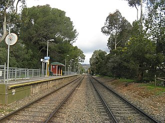 Unley Park railway station - Image: Unley Park South Aug 08