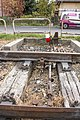 Unused Budapest Local Railway section railroad switch side view.jpg