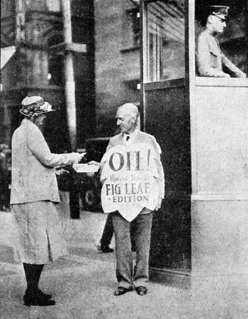 """English: Upton Sinclair himself, selling the """"..."""