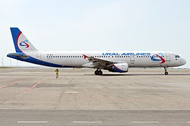 Ural Airlines, VQ-BCX, Airbus A321-211 (26516934481).jpg