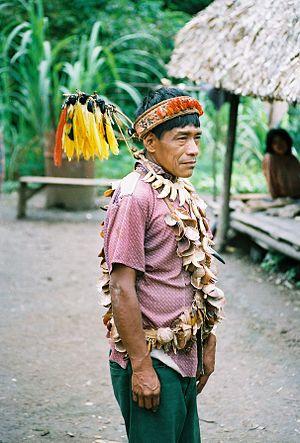 Urarina people - Urarina shaman, 1988