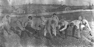 1893 VAMC football team - VAMC's football team in 1893