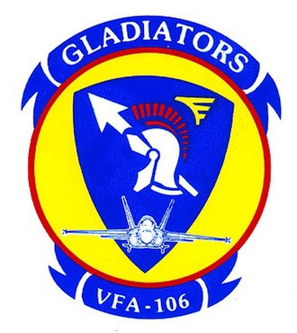 Fleet Replacement Squadron - Image: VFA 106 insignia