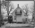 VIEW OF NORTH REAR - Conrad Fox, Jr. House, 3500 Rapids Court, Mount Pleasant, Racine County, WI HABS WIS,51-MTPLE,1-5.tif