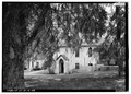 VIEW OF PARISH HOUSE FROM SOUTHWEST - Church of the Holy Cross, State Route 261, Stateburg, Sumter County, SC HABS SC,43-STATBU.V,1-38.tif