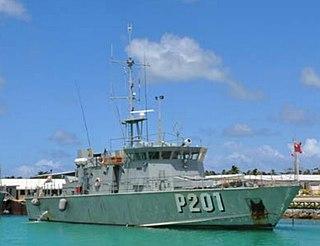 VOEA <i>Pangai</i> (P202) Patrol vessel