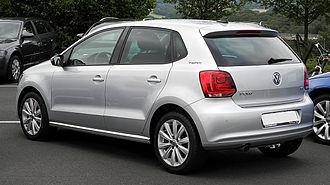 Volkswagen Polo Mk5 - 5-door hatchback (pre-facelift)