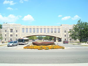 Virginia Tech College of Engineering - Torgersen Hall hosts many of Virginia Tech's engineering resources