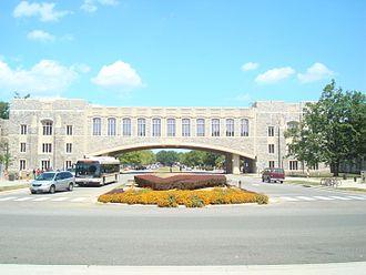 Virginia Tech College of Engineering - Torgersen Hall hosts many of Virginia Tech's engineering resources