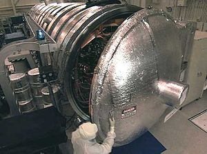 Vacuum chamber - A large vacuum chamber.