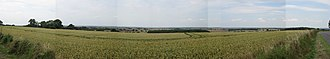 Vale of Belvoir - A panorama of the Vale of Belvoir