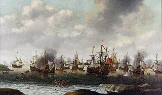 Second Anglo-Dutch War conflict fought between England and the United Provinces
