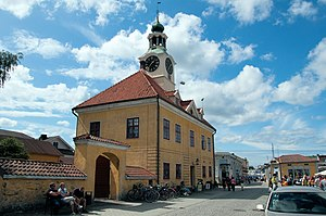 Rauma Old Town Hall - Rauma Old Town Hall is located by the market square