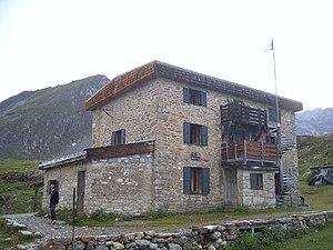 Fédération Française des clubs alpins et de montagne - The mountain hut of the CAF at Col de la Vanoise