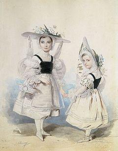 Vasilchikovi, 1830s by Sokolov P