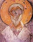 Szent Alexandrosz freskóképe