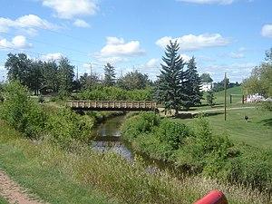 Vegreville - Vermilion River in Vegreville