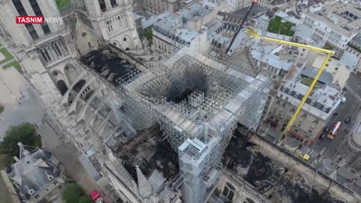 ملف:Video Shows Damage Done to Notre Dame Cathedral by Fire - Wo.webm