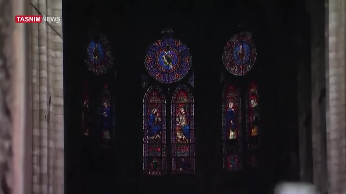 File:Video Shows Damage Done to Notre Dame Cathedral by Fire - Wo.webm