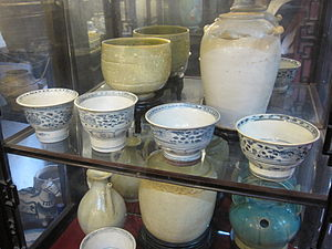 Vietnamese ceramics - An'nan ware in blue and white