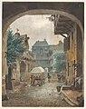 View into the Courtyard of an Inn at Colmar MET DP209553.jpg