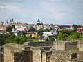 View on Suceava (Romania) from Fortess.jpg