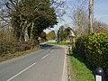View towards Dark Lane on the B3046 - geograph.org.uk - 1207199.jpg