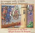 Vigiles de Charles VII, fol. 51v, Siège de Bourges (1427).jpg