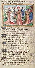 Vigiles de Charles VII, fol. 55v, Jeanne d'Arc conduite à Chinon.jpg
