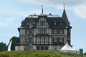 Ernest Cassel - Villa Cassel at Riederalp, Switzerland