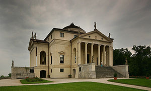 "Palladian villas of the Veneto - Villa Capra ""La Rotonda"" in Vicenza. One of Palladio's most influential designs"
