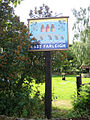 Village sign, East Farleigh, Kent - geograph.org.uk - 187933.jpg
