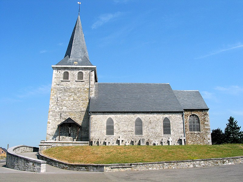 Villers-le-Bouillett  (Belgium), the  Saint Martin's church.